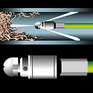 Deuba Tubo para limpiar desatascar tuberías y desagües para las ...