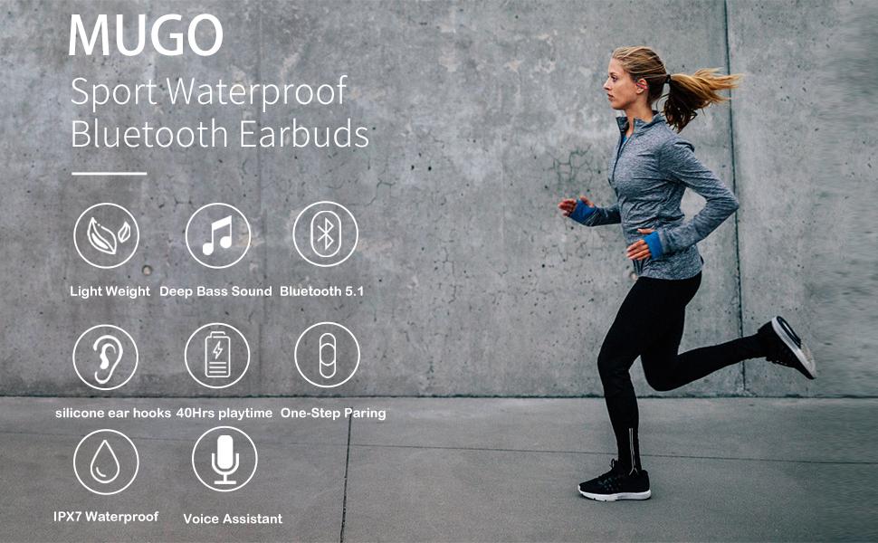 Bluetooth 5.1 Sport Headphones