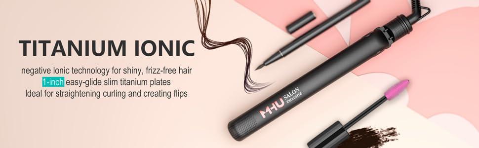 Professional Hair Straightener,Flat Iron for travel,Titanium Flat Iron Hair Straightener