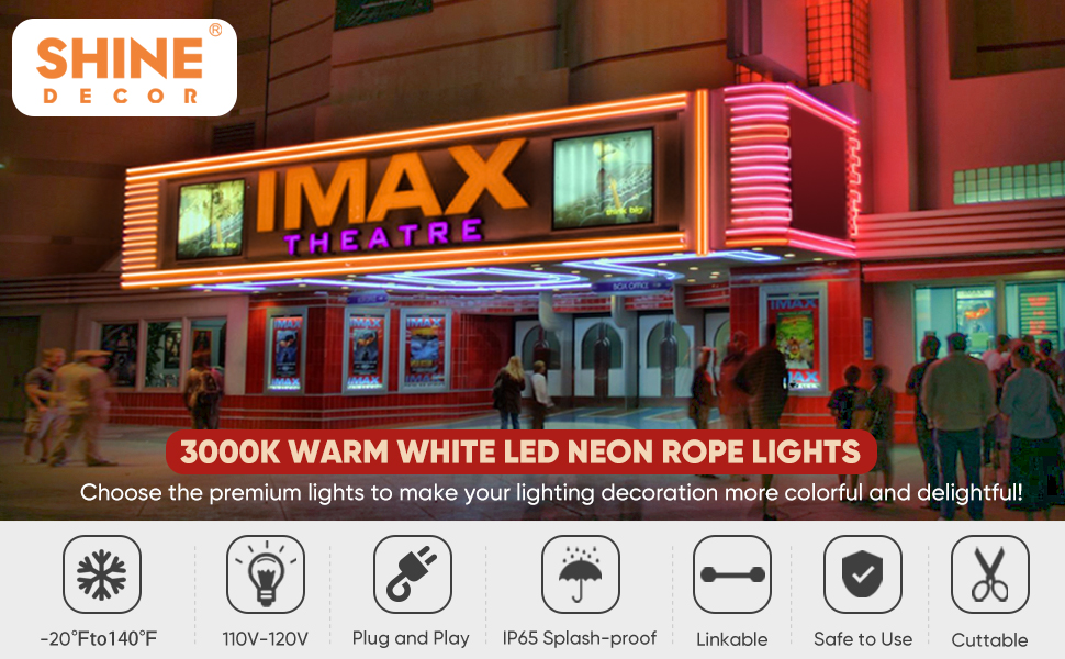 Shine Decor LED Neon Rope Lights