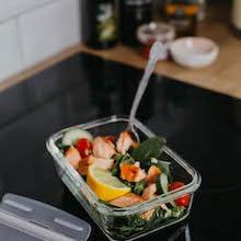 Home Planet Recipientes de Cristal para Alimentos | 840ml X 5 | 97% Embalaje de plástico eliminado | Cristal Hermetico | Fiambreras de Cristal con Tapa | Envases de Cristal para Alimentos: Amazon.es: Hogar