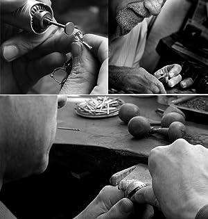 rose gold spinner ring fidget ring for men women