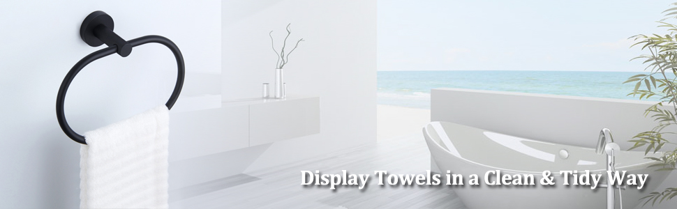 bathroom kitchen hand towel hanger