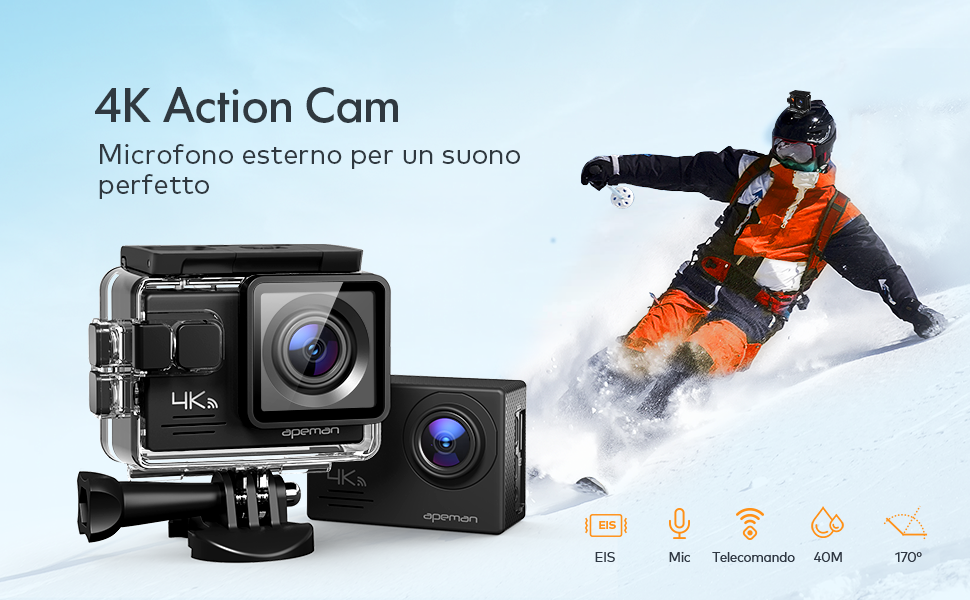 action cam apeman A79 gopro