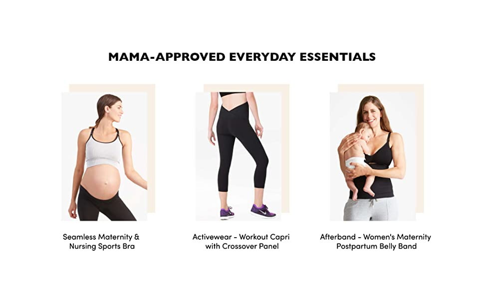 Ingrid Isabel Maternity Workout Capri Active Leggings For Your Pregnancy At Amazon Women S Clothing Store