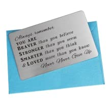 always remember you are wallet card