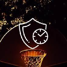 tangle nightball basketball durable led sports balls outdoor lightup glow battery