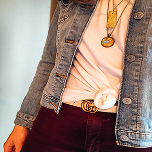 PrinStory Women's Summer Short Sleeve Shirts Loose Casual Tee T-Shirt