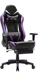 Ficmax Purple gaming chair