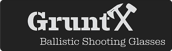 GruntX Ballistic Shooting Glasses