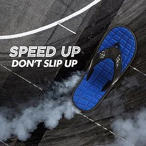 skid resistant slippers of men, durable and skid resistant flip flops for men