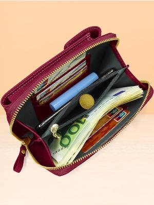 billeteras mujer pequeñas