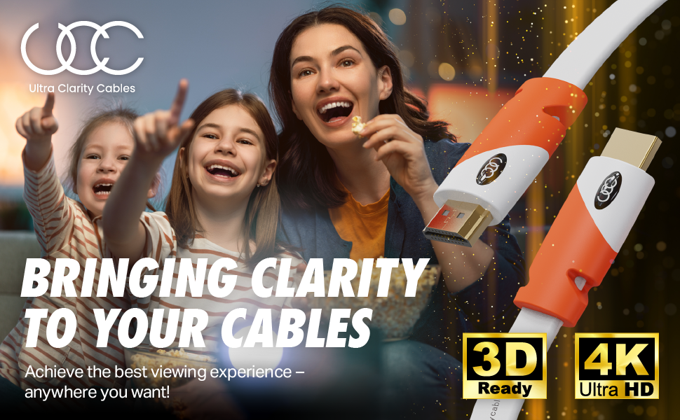 bringing clarity to your cables with our HDMI cables