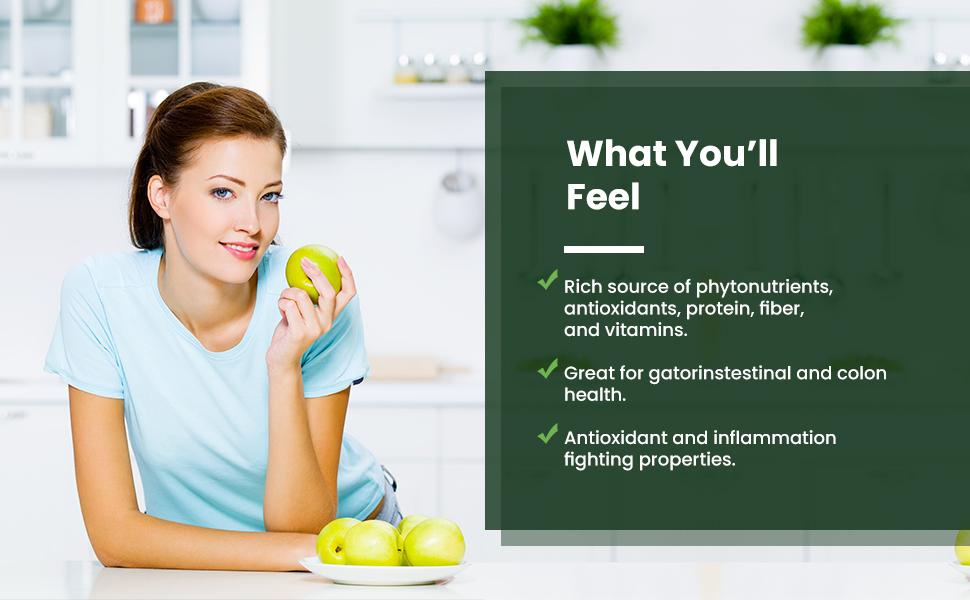 Rich Source Phytonnutrients Protein Fiber Vitamins Colon Health