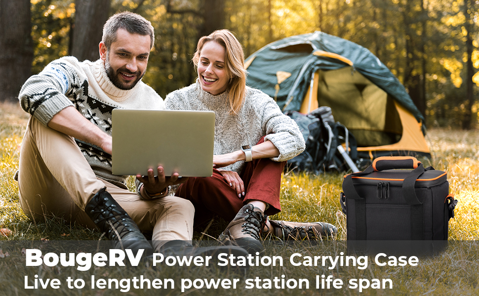 Jackery portable power station carrying case bag
