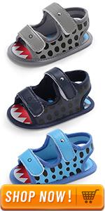 baby shark sandal