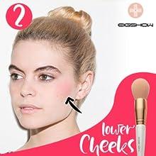 Professional Makeup Brush set Beauty Cosmetic Foundation Power Blushes eyelashes Lipstick Natural-