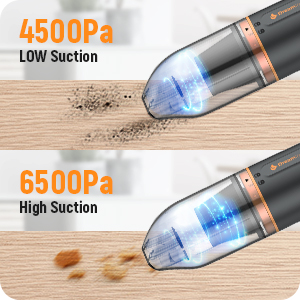 2 Speed Modes Strong Suction