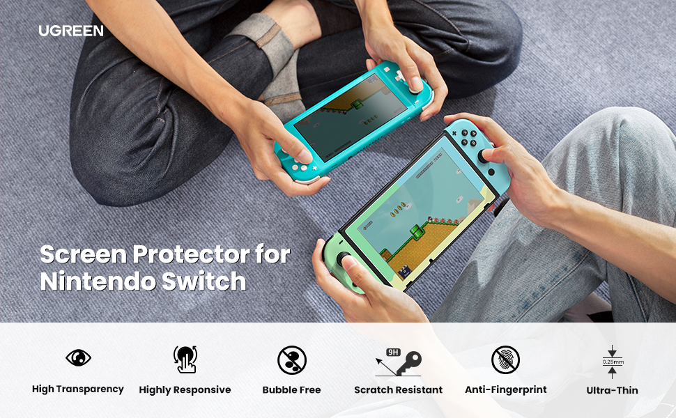 UGREEN Switch Screen Protector for Nintendo Switch