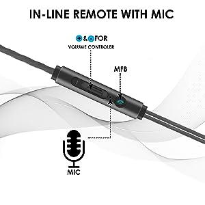 in-ear wired earphone, wired earphones, wire earphone