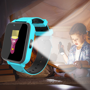 Smartwatch met zaklamp.
