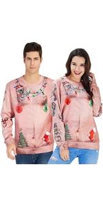 unisex christmas sweatshirts