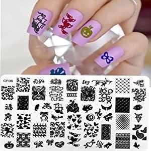 nail art stamping kit for women