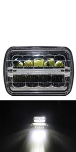 5x7 Led Headlight