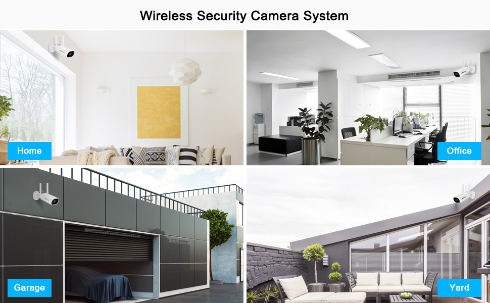 INDOOR AND OUTDOOR CAMERA SYSTEM