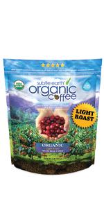 2 LB Subtle Earth Organic  Light Roast