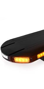 amber white strobe light bar