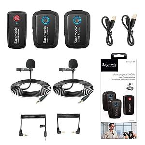 wireless lavalier microphone