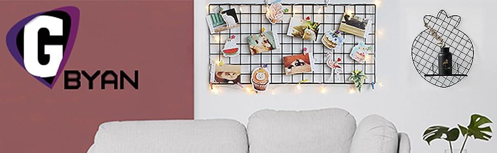 photo grid wall