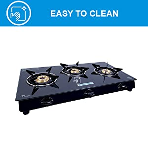 gas stove with induction, steel gas stove, glass top gas stove, 3 burner induction gas stove
