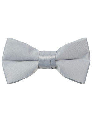 Spring Notion Boys Solid Color Microfiber Pre-Tied Bow Tie