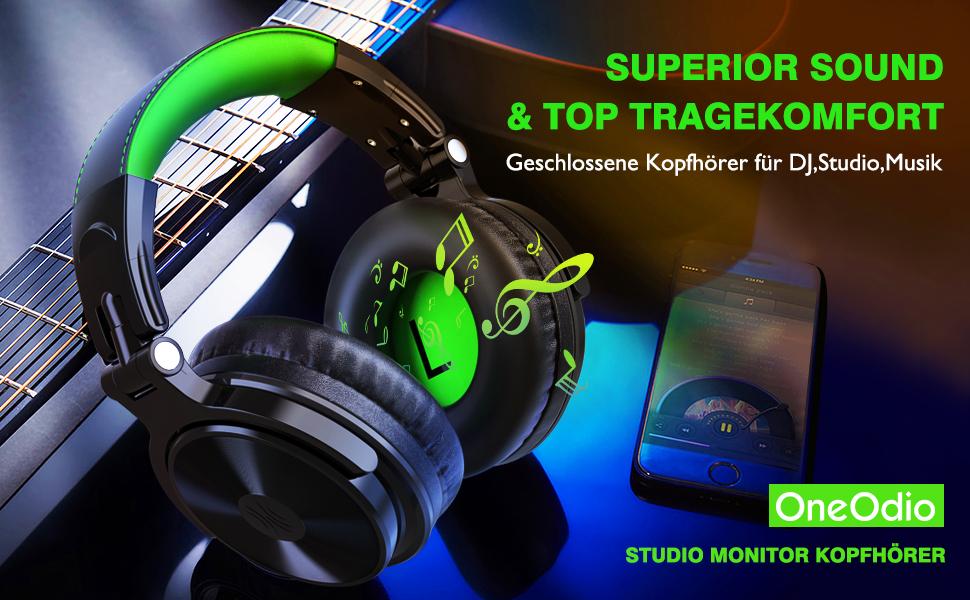 Surround Stereo Kopfhörer mit Kabel