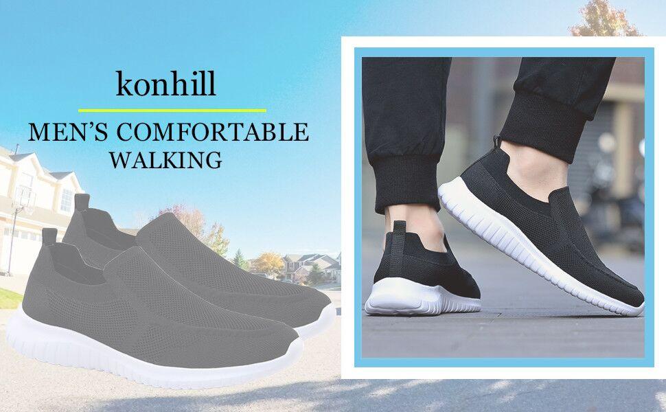 Tennis Casual Slip on Athletic Sneakers