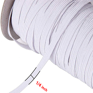 1/4 inch elastic bands for sewing masks 1/4 inch elastic for sewing elastic cord for mask elastic
