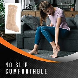 comfortable non slip ankle brace