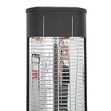 Standheizstrahler Infrarot-Strahler Wärmestrahler Terrasse mit Fernbedienung Baby Innenbereich Bad