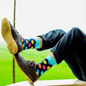 Men's Gift Socks Fancy Funky Novelty Crazy Dress Socks