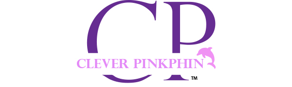 CP CLEVER PINKPHIN LOGO