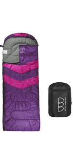 Sleeping Bag for Indoor & Outdoor Use Great for Kids, Boys, Girls, Teens & Adults