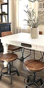 short kitchen stools