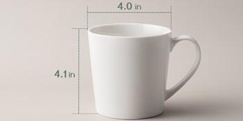 DOWAN coffee mug - white