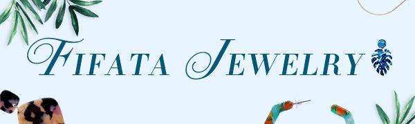 Bohemian Statement Earrings for Women Girls FIFATA  Rattan Dangle Earrings Acrylic Hoop Fashion