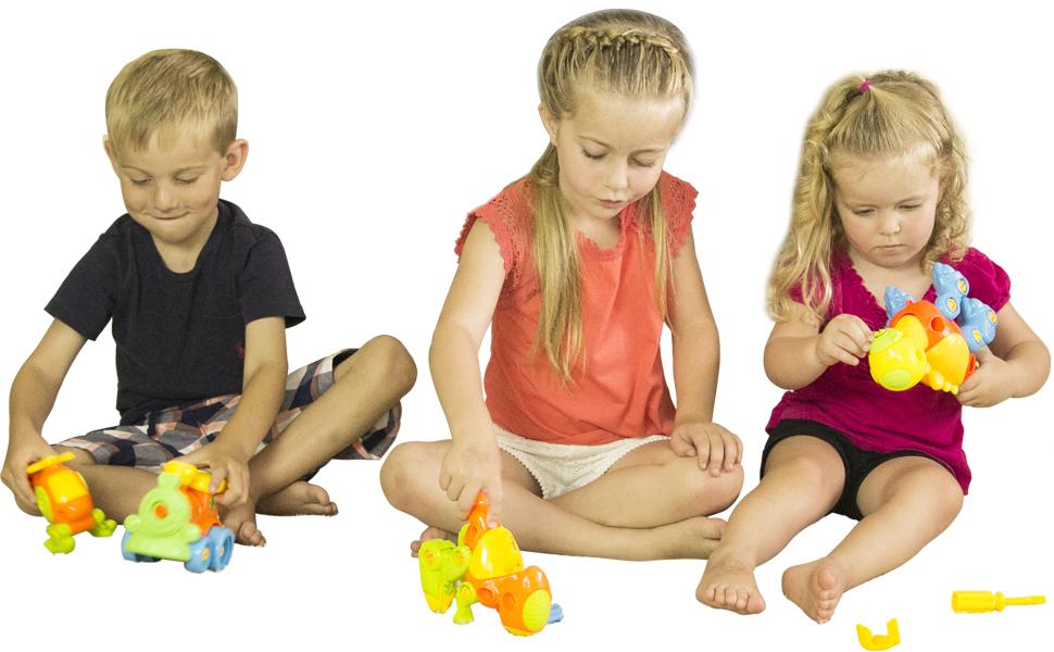 childrens kids toys stem learning set engineering kit for boys & girls