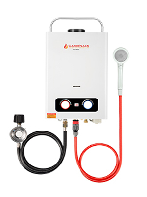 gas water heater tankless portable water heater