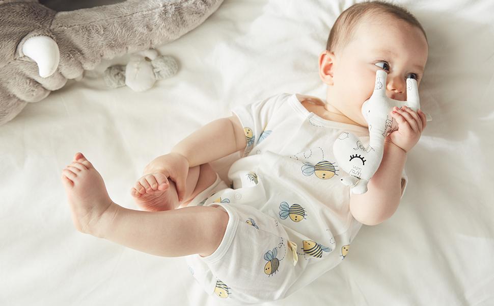 baby romper short sleeve