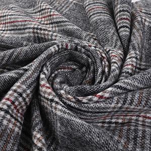 warm lattice scarf